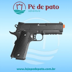 Pistola Airsoft Metal G25+