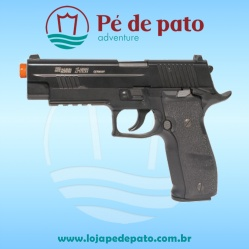 Pistola Airsoft P226 X-Five Full Metal (CO2)
