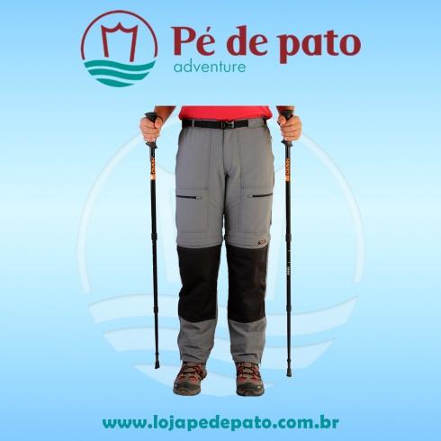 f26135653 Calça Bermuda Reforçada Hard Pro Mountain Masculina - Pé de Pato