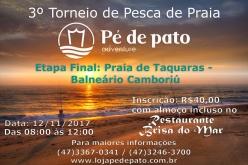 Etapa Final do 4º Torneio de Pesca de Praia Loja Pé de Pato etapa Itapema