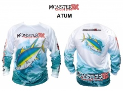Camisa Monster 3x Fish Collection (Atun, Black Bass, Dourado do Mar ou Dourado)