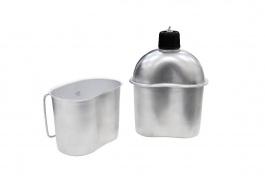 Cantil Alumínio Com Caneca Nautika