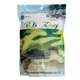 Esferas de Plástico BB King 6mm 0.20g 5000un