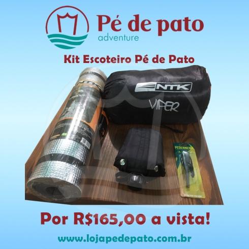 Kit Escoteiro Pé de Pato