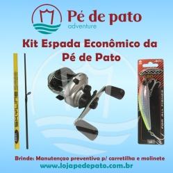 Kit pesca Espada Artificial Econômico