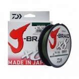Linha Multifilamento J-Braid x8 Daiwa