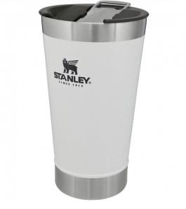 Copo Térmico Stanley com tampa 473ml Branco